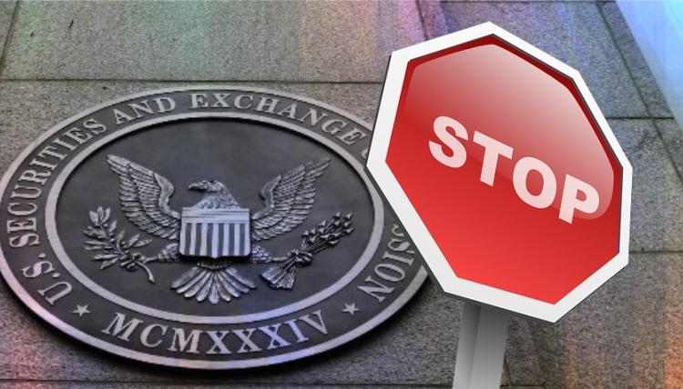 SEC приостанавливает торговлю инвестиционными продуктами на базе биткоин и Ethereum