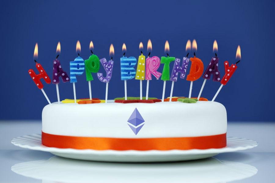Ethereum Anniversary