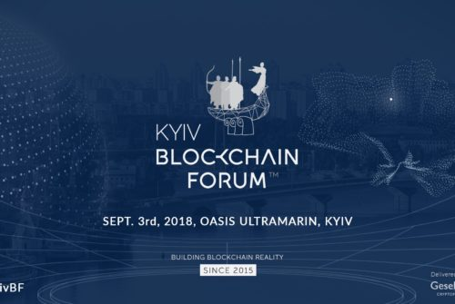 "September 3, 2018, in the concert hall ""OASIS"" (Lipkivsky, 1A) – will be held the VIII Kyiv Blockchain Forum, international event devoted to Blockchain technology and the cryptocurrency sphere"