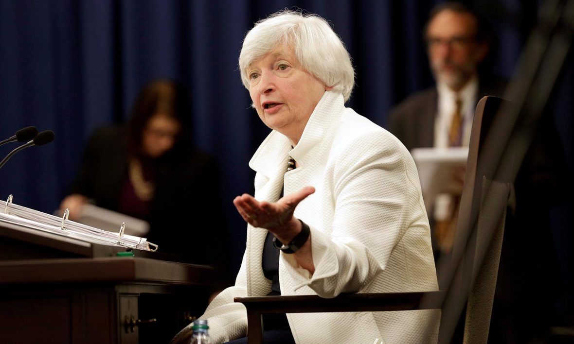 Bitcoin Is 'Anything but Useful' Says Ex-Federal Reserve Chair Janet Yellen