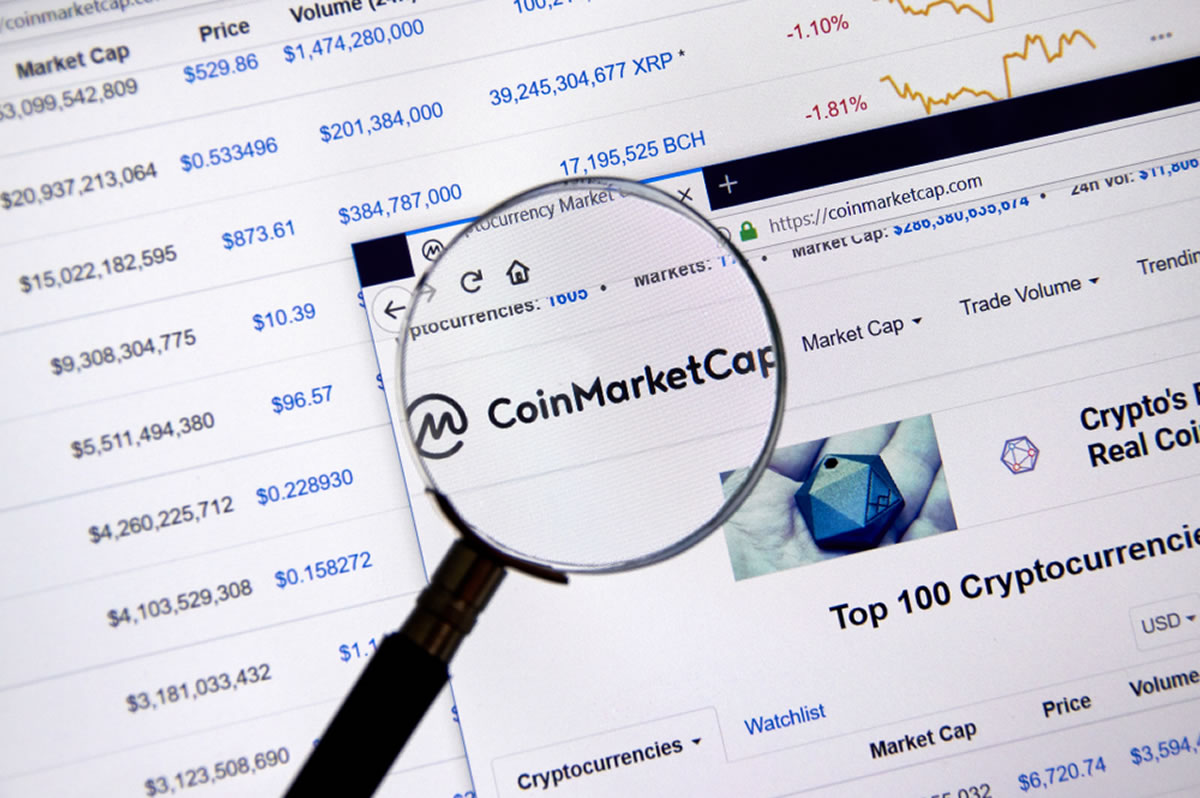 CoinMarketCap Will Alter Listing Metrics After Latest Fake Volume Research
