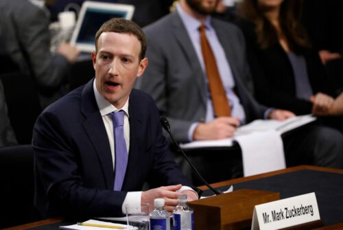 As Libra Battles Critics, Zuckerberg Aims to Win Over US Policymakers