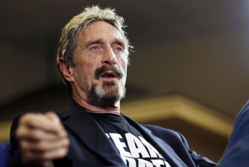 John McAfee: Authorities Should Not Expect Crypto Firms to Stop Crypto Crimes