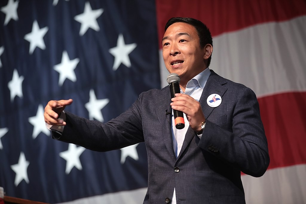 Crypto Community Loses Its 2020 Presidential Candidate Andrew Yang