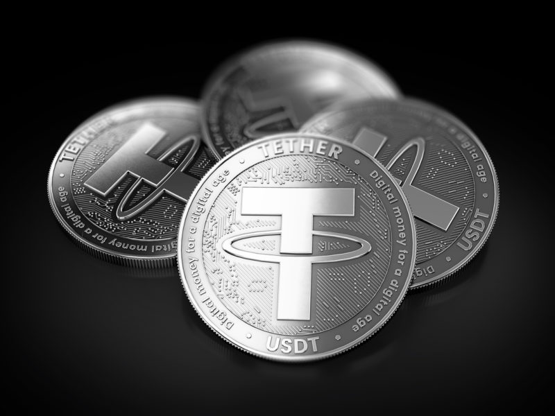 USDT Moves Every Eight Days on Average, Data Shows