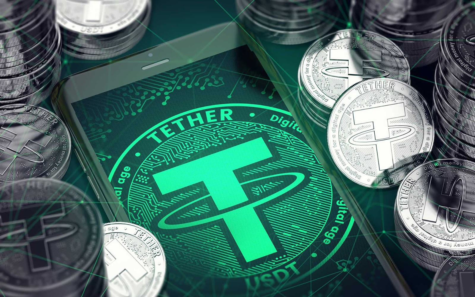 Tether market cap increases almost 4X in 2020 to $15 billion