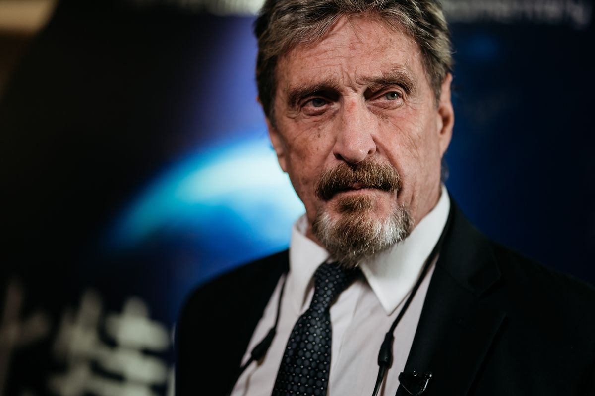 SEC brings John McAfee to court over ICO promotion