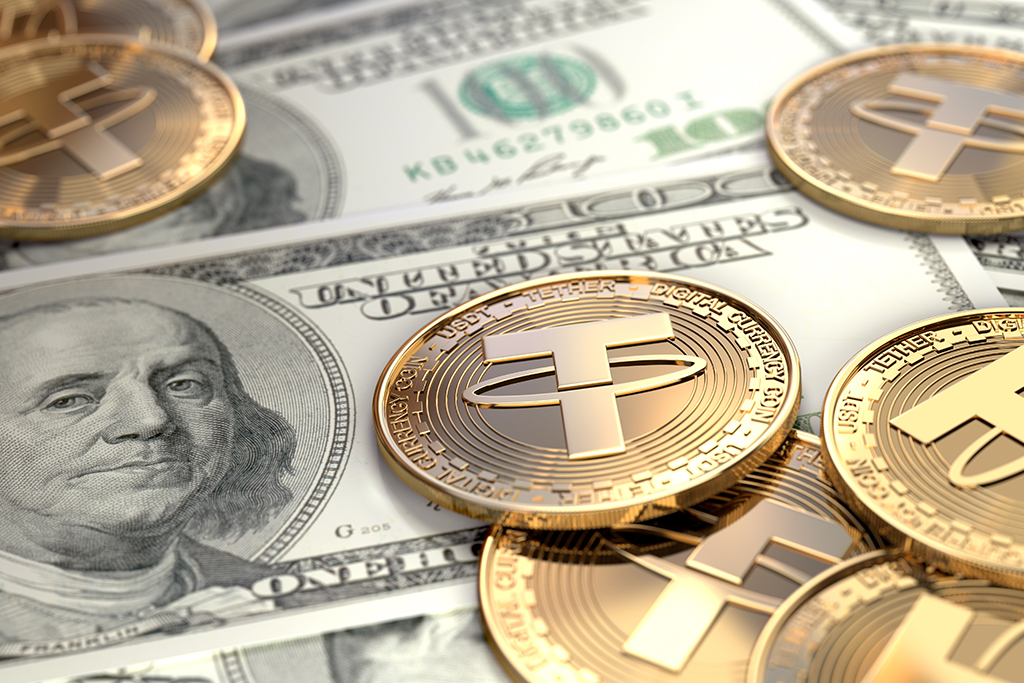 Tether volume hits $600B as it attempts to take on Bitcoin as crypto's benchmark