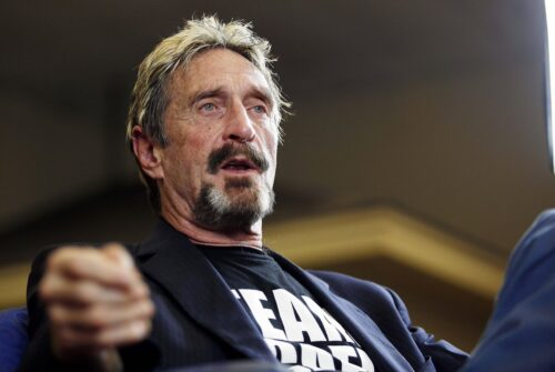 John McAfee: Computer programmer and crypto evangelist dead at 75