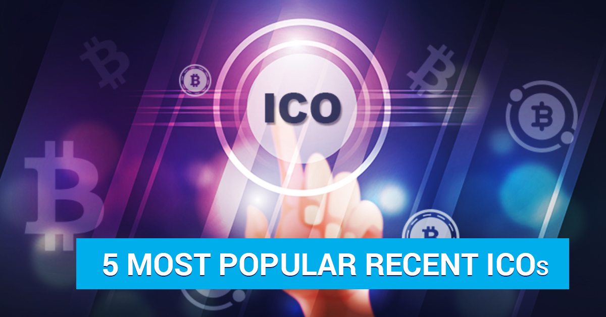 The most popular ICOs of recent time