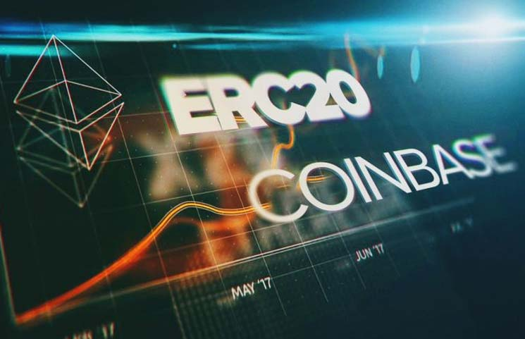 Coinbase Launches Trading for First ERC-20 Token on Platform