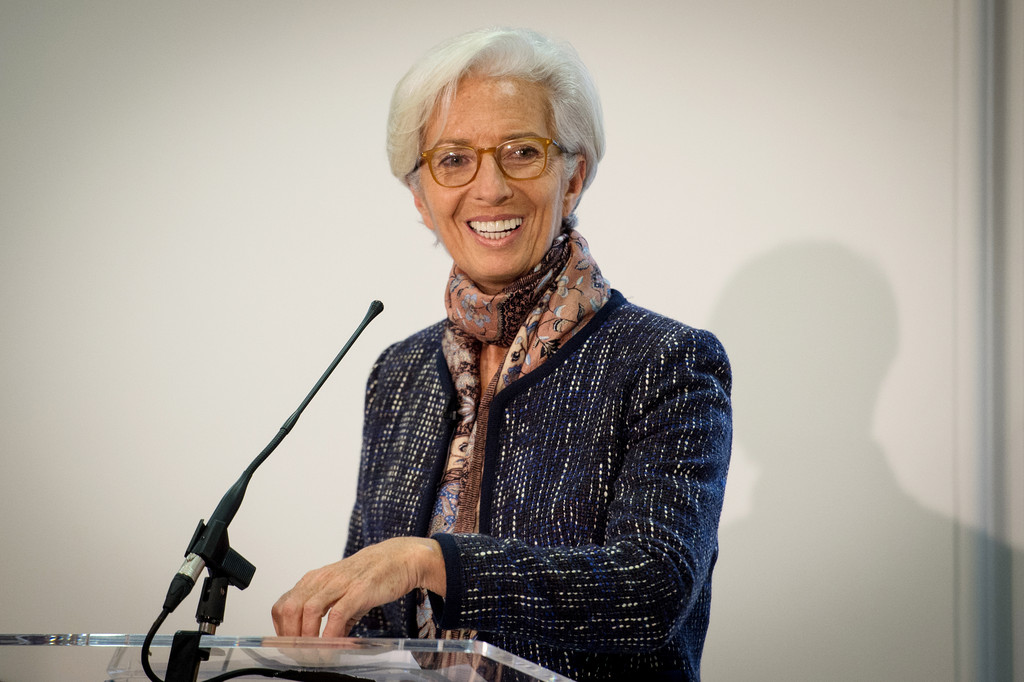 IMF Chief Christine Lagarde: We Should Be Open to Cryptocurrencies