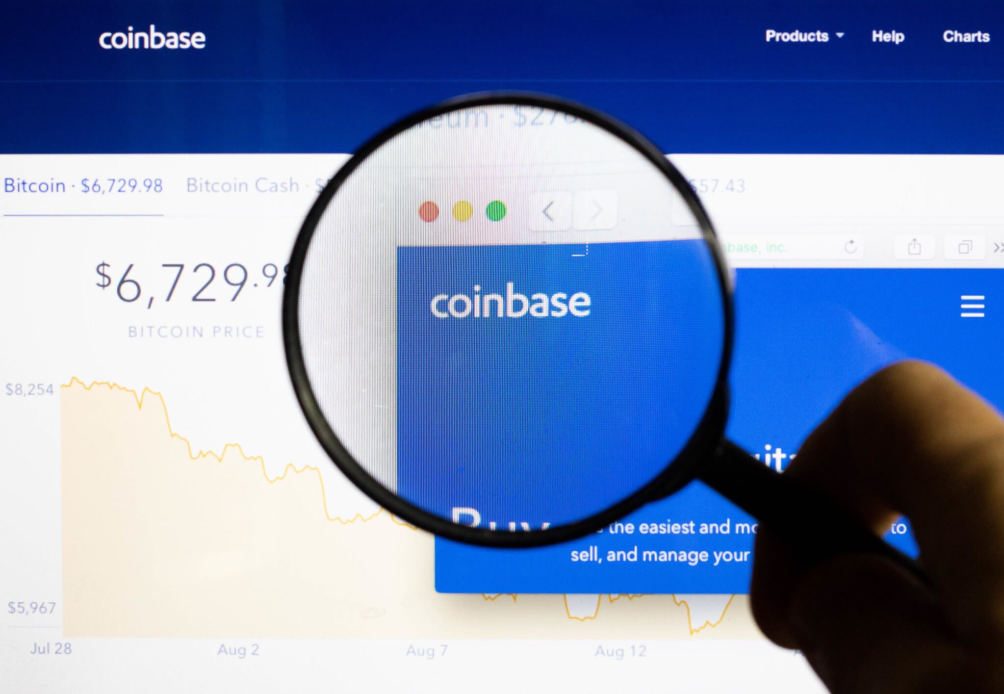 Coinbase comes back online following issues