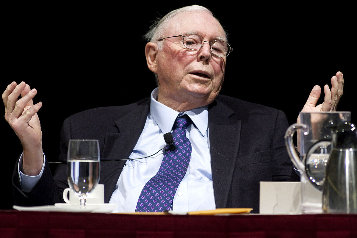 Bitcoin is a 'disgusting' product that comes 'out of thin air,' says Charlie Munger